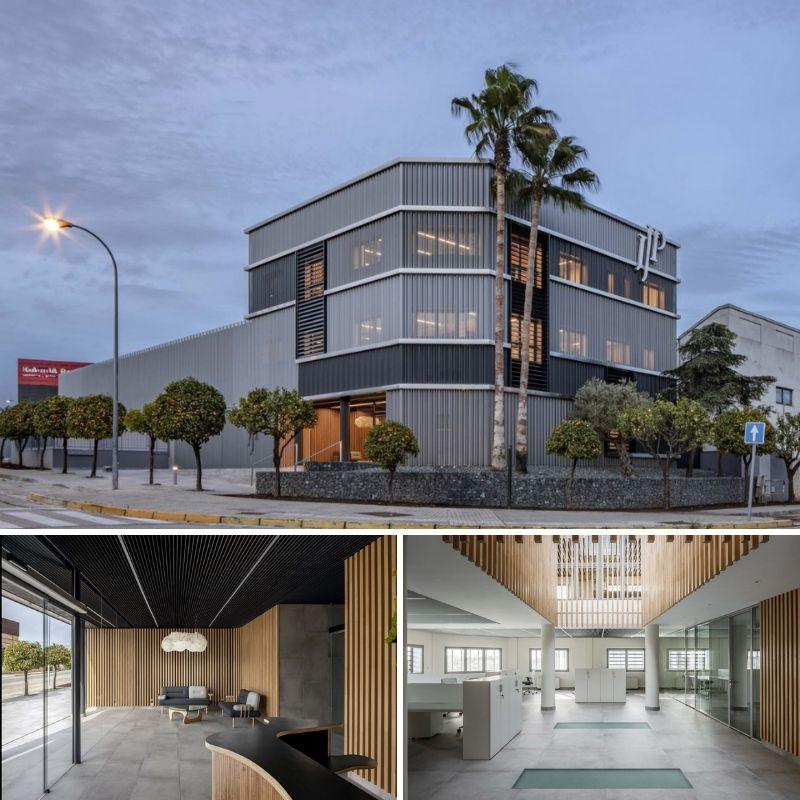 La revista 'Metalocus' publica el proyecto de Buró4 y Gabriel Verd  para la nueva sede de JJP Hospitalaria