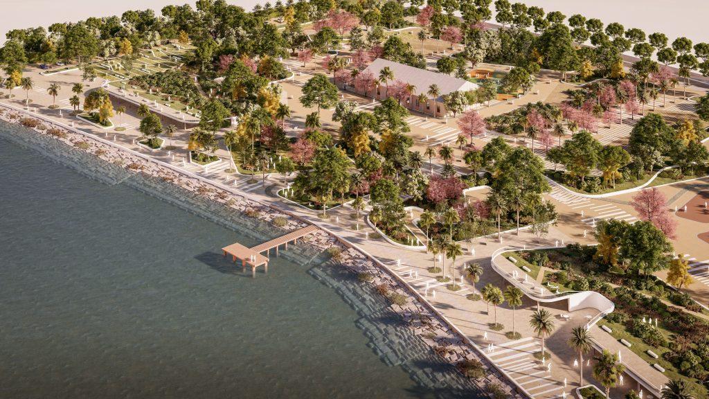 El nuevo Parque de La Magdalena de San Fernando, diseñado por Buró4, será un gran espacio de ocio