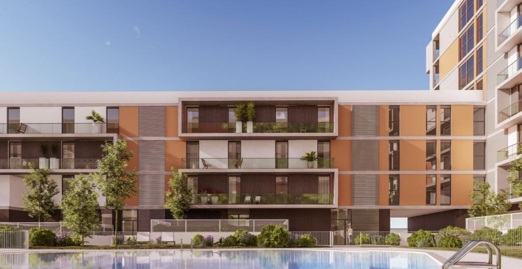 Buró4 y Gabriel Verd diseñan el residencial de 190 viviendas Habitat Jardines de Oriente en Sevilla Este