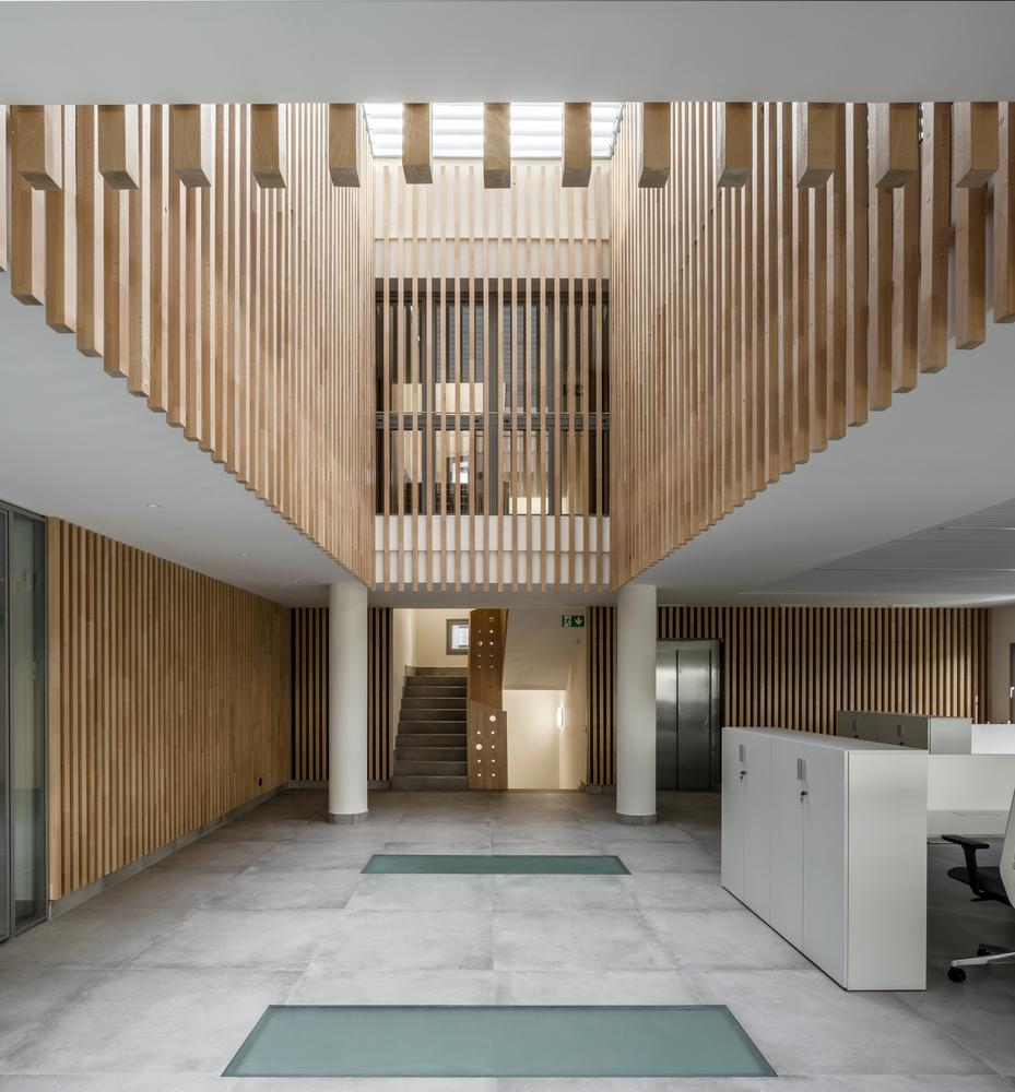 El proyecto de Buró4 y Gabriel Verd para la sede de JJP Hospitalaria,  incluido en 'Plataforma Arquitectura'